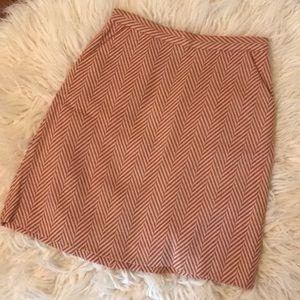 Tucker Skirts - Tucker for Target herringbone chevron skirt